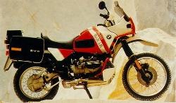 BMW R100GS (1990 Dakar Special)