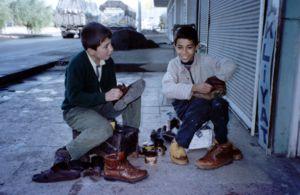 Shoe shine boys