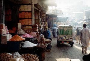 Peshawar town
