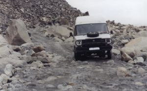 Rough Pakistani roads