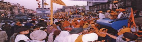 Sikh celebrations on the streets