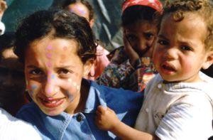 Local children, Sidi Ifni