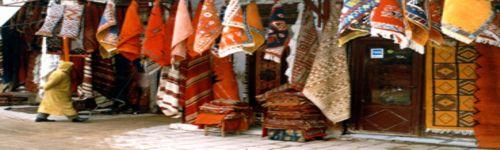Carpet trader Marrakesh